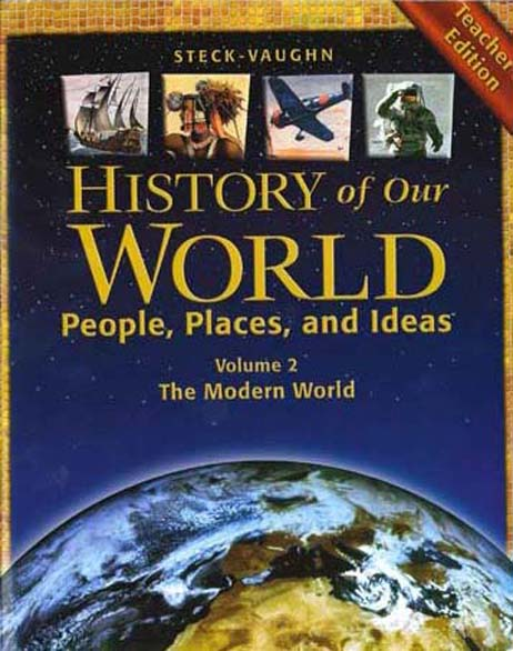 History of Our World Book II Teacher's Guide by Steck-Vaughn