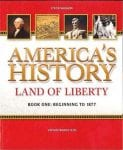 America's History Book I by Steck-Vaughn