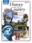 History of Our Country Level E Student Book by Steck-Vaughn