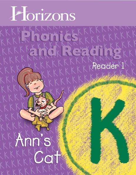 Horizons Kindergarten Phonics & Reading Reader 1: Ann's Cat from Alpha Omega Publications