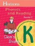 Horizons Kindergarten Phonics & Reading Reader 3: Clem's Snake from Alpha Omega Publications