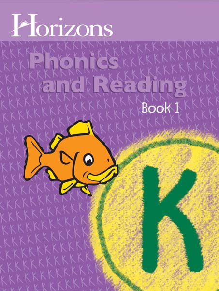 Horizons Kindergarten Phonics & Reading Student Book 1 from Alpha Omega Publications