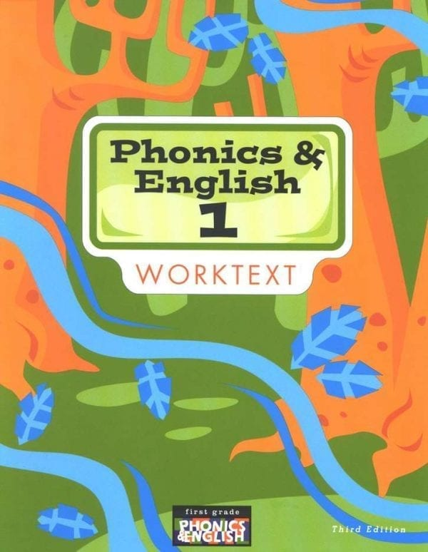 1st Grade Phonics and English Textbook Kit from BJU Press