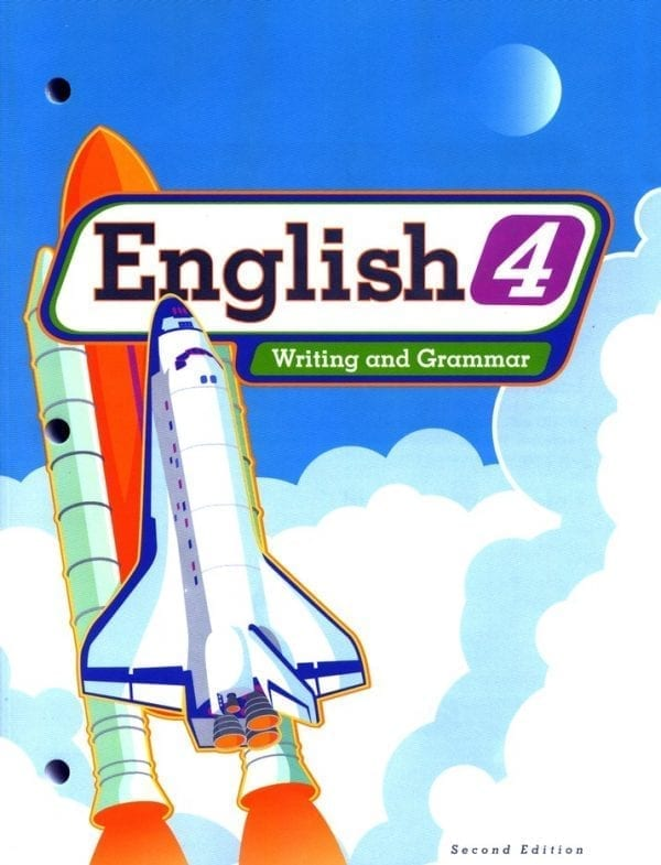 4th Grade English Textbook Kit by BJU Press
