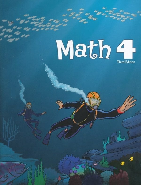 4th Grade Math Textbook Kit from BJU Press