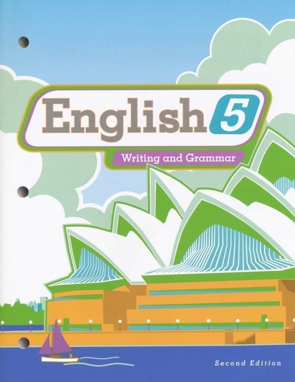 5th Grade English Textbook Kit from BJU Press