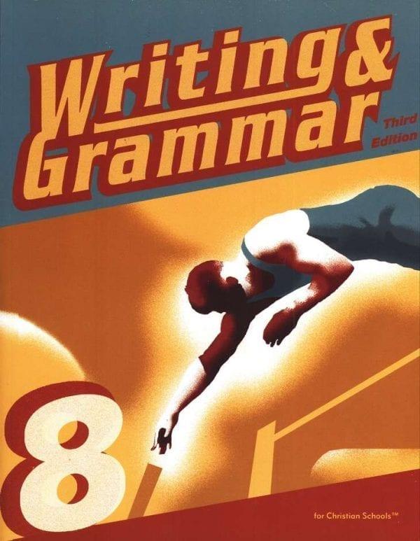 8th Grade Writing and Grammar Textbook Kit from BJU Press