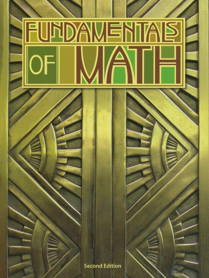 7th Grade Fundamentals Of Math Textbook Kit From BJU Press
