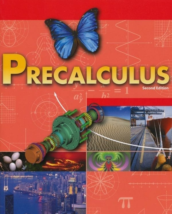 12th Grade Pre-Calculus Textbook Kit (High School)