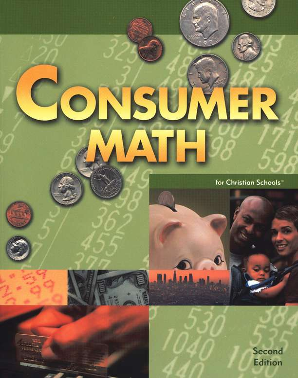 Discounted BJU Press Consumer Math Homeschool Kit Grade 12 – Consumer Math Worksheet