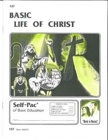 Life of Christ Unit 7 (Pace 139) from Accelerated Christian Education