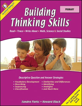 Building Thinking Skills Primary, Grades K-1, from The Critical Thinking Company