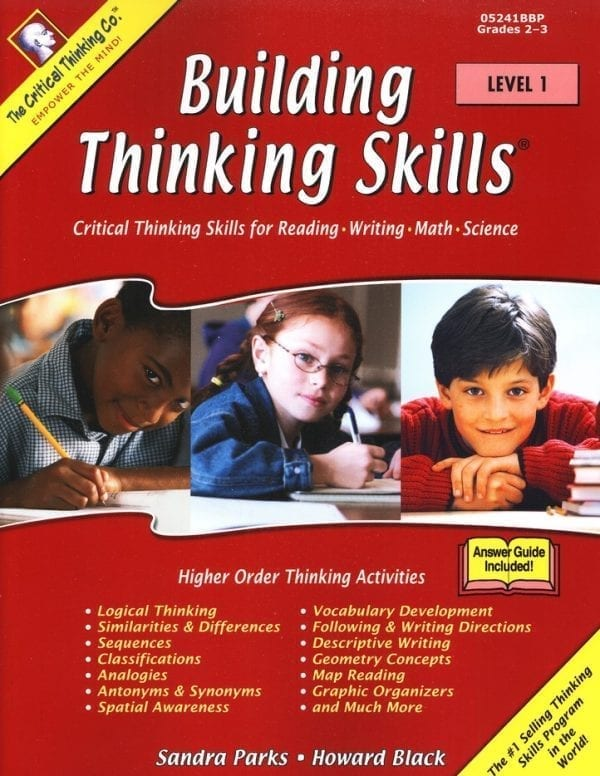 Building Thinking Skills: Level 1, Grades 2-3, from The Critical Thinking Company