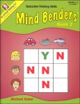 Mind Benders Level 2, Grades 1-2, from The Critical Thinking Company
