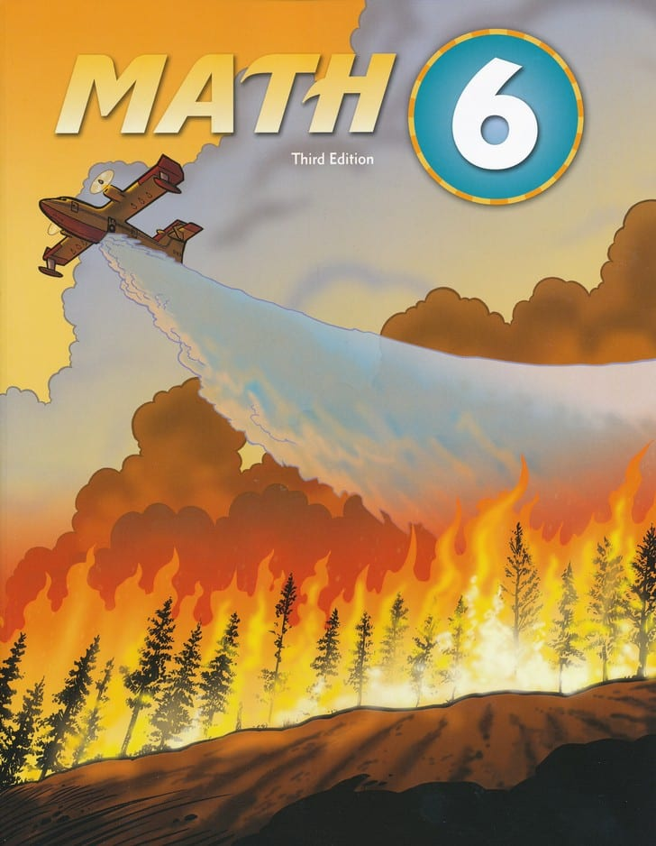 Best Price On BJU Press 6th Grade Math 3rd Edition