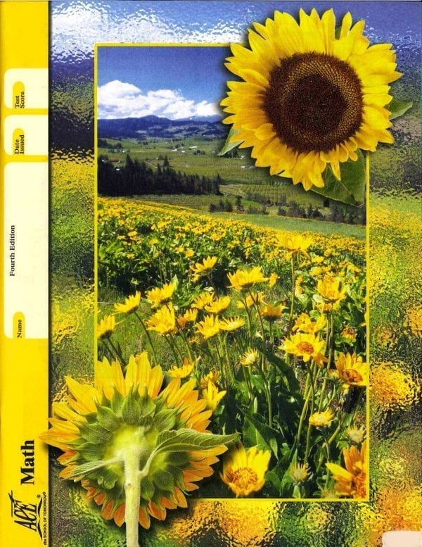 Math Unit 10 (Pace 1094) (Fourth Edition) from Accelerated Christian Education