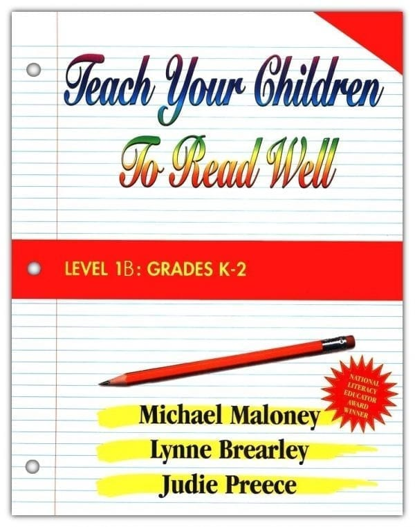 1B: Grade K-2 Instructor's Manual from Teach Your Children to Read Well Press