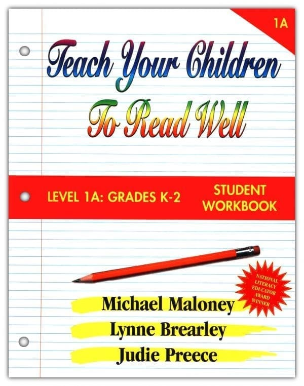 1A: Grade K-2 Student Workbook from Teach Your Children to Read Well Press