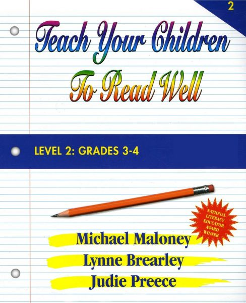 Level 2: Grades 3-4 Instructor's Manual from Teach Your Children To Read Well Press