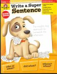 Write a Super Sentence from Evan-Moor