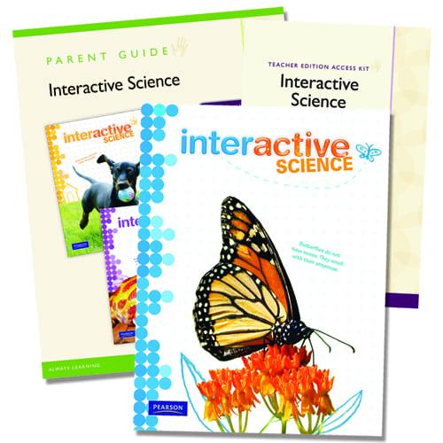 Interactive Science Grade 3 Homeschool Bundle From Pearson Homeschool