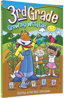 3rd Grade Growing with God Student Manual from Positive Action for Christ