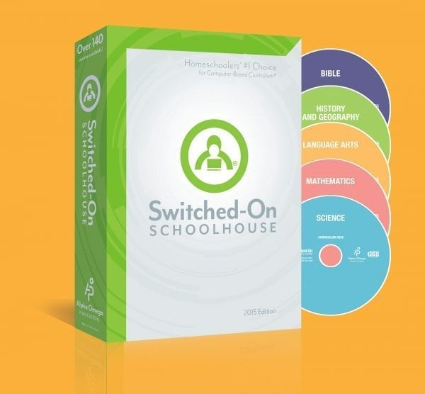 Switched-On Schoolhouse 10th Grade 5-Subject Set from Alpha Omega Publications