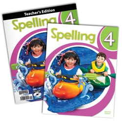 4th Grade Spelling Textbook Kit from BJU Press