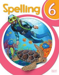 6th Grade Spelling Textbook Kit 2nd Edition from BJU Press