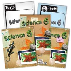 6th Grade Science Textbook Kit from BJU Press