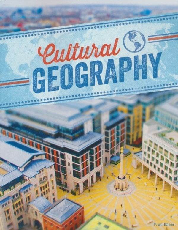 9th Grade Cultural Geography Textbook Kit from BJU Press