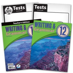 12th Grade Writing and Grammar Textbook Kit
