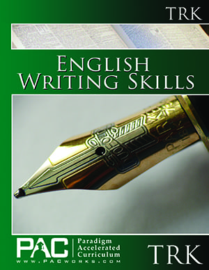 English III: Writing Skills Teacher's Resource Kit with CD from Paradigm Accelerated Curriculum