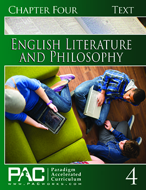 English IV: Legacy of Freedom Chapter 4 Text from Paradigm Accelerated Curriculum