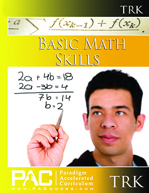 Basic Math Skills Teacher's Resource Kit with CD from Paradigm Accelerated Curriculum