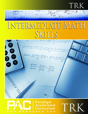 Intermediate Math Teacher's Resource Kit from Paradigm Accelerated Curriculum