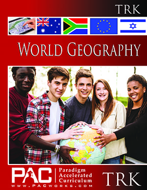 World Geography Teacher's Resource Kit with CD from Paradigm Accelerated Curriculum