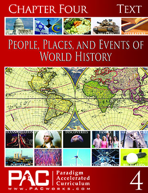 World History Chapter 4 Text from Paradigm Accelerated Curriculum