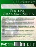 English Grammar Skills Kit from Paradigm Accelerated Curriculum