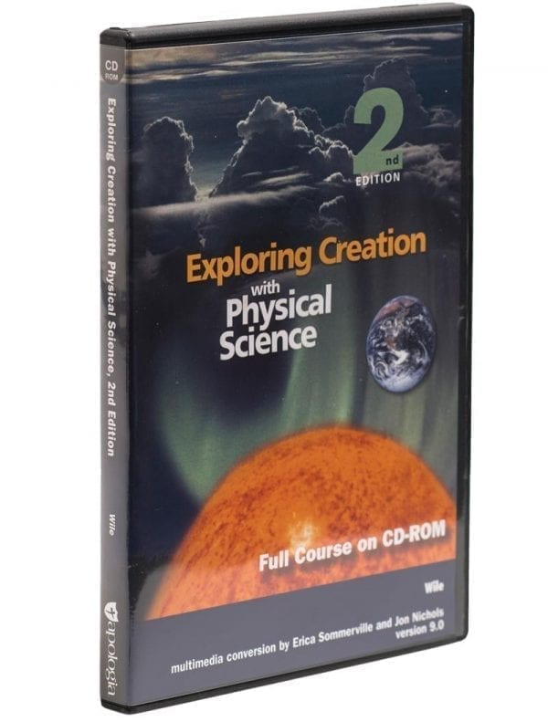 Exploring Creation with Physical Science Second Edition Full Course on CD from Apologia