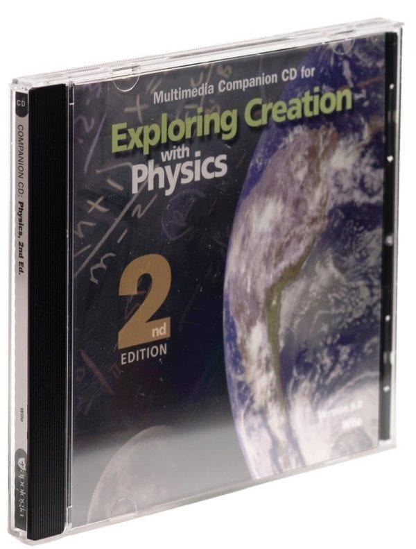 Exploring Creation with Physics Second Edition Companion CD