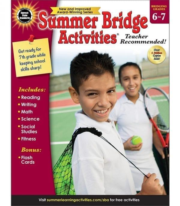 Summer Bridge Activities Grades 6-7 from Carson-Dellosa