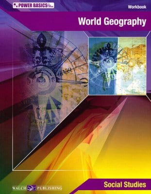 Power Basics - World Geography Kit from Walch Publishing