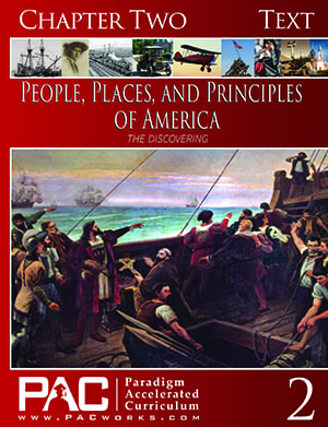 The Discovering of America (Chapter 2 Text) from Paradigm Accelerated Curriculum