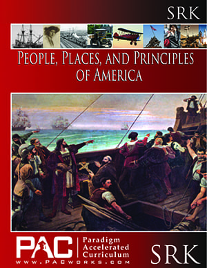 The People, Places, and Principles of America Student Resource Kit from Paradigm Accelerated Curriculum