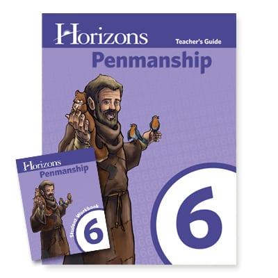 Horizons 6th Grade Penmanship Set from Alpha Omega Publications