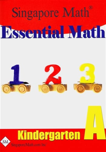 Essential Math Kindergarten A by Singapore Math