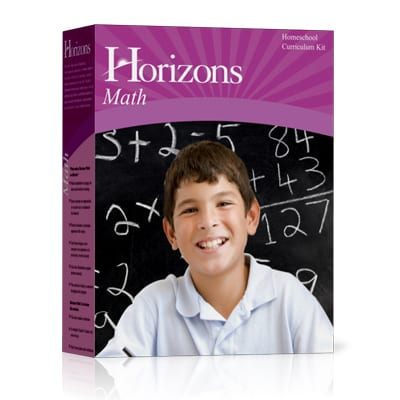 Horizons Kindergarten Math Set from Alpha Omega Publications