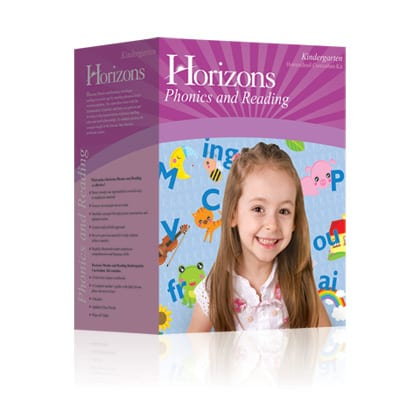 Horizons Kindergarten Phonics and Reading Set from Alpha Omega Publications