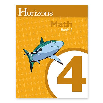 Horizons 4th Grade Math Student Book 2 from Alpha Omega Publications